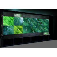 安防监控55寸三星拼接屏/拼接墙/九连屏液晶监视器的安装设计厂家