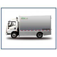 河南森源新能源物流车,7吨纯电动箱式运输车,城市货品快递配送车