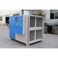 焊接烟气来源和成分构成等离子静电除烟净化器蓝绿环保
