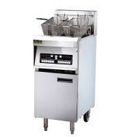 广州晋豪厨具9千瓦电脑板炸炉 固体油融油功能 升温快 温控精确 食物更酥脆
