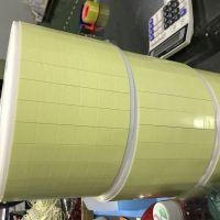 黄纸白pe 1MM厚PE挂钩胶橡胶型双面泡沫胶带