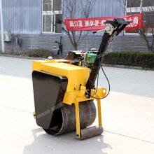 鲁恒供应手扶小型汽油压路机 700A手扶单轮重型汽油压路机 建筑压实机械