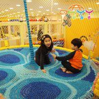 起航游艺彩虹站,绳网游乐设备,彩虹绳网儿童乐园