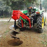 3分钟6个坑的植树挖坑机价格 家用手提式施肥打孔机富兴批发