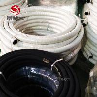厂家直销各种口径夹布胶管橡胶夹布水管16公斤压力里外耐磨货期短