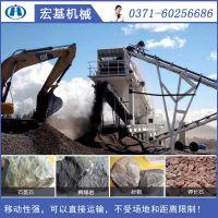 宏基移动式建筑垃圾资源再生处理设备在江苏南通成为爆款