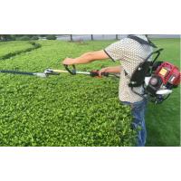 小型汽油松土割草锄草机 新型茶园修剪绿篱机 双刃新型修剪绿篱机