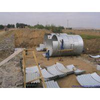 洗煤厂排污项目施工用锦坤牌耐腐蚀沥青金属波纹管 JKHG-1.5-3.0
