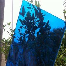 蓝色pc耐力板_湖蓝pc耐力板_pc蓝色板_耐力板厂家供应