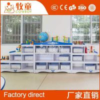 幼儿园家具木质储物柜收纳箱 儿童实木玩具柜定制批发