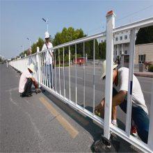云浮马路人行道护栏供应 京式护栏现货 佛山机动车分隔栏定制厂