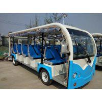 朗迈23座大容量景区电动观光车 直流电机观光电瓶车 乘坐23人