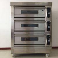 三层六盘电脑面板食品烤箱 面包烘炉 月饼烤炉
