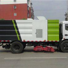 东风8方扫路车带洒水功能价格厂家配置4.0L