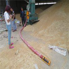 收粮食流动型吸粮机 润众 电动分离吸粮机