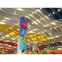 广东德普龙 商场木纹圆管铝方通价格