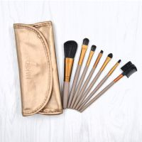 kainuoa/凯诺工厂批发 7支化妆刷套装 钱夹绑带化妆刷包美妆彩妆工具