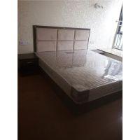桥头酒店家具板式公寓床