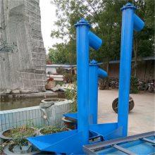 六九重工 厂销 银川 饲料螺旋提升机 小型粮食饲料螺旋上料机 耐磨上楼输送机