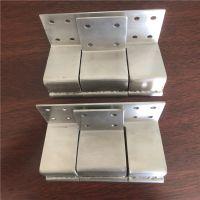金裕 厂家直销 不锈钢合页 折弯型合页 铝型材配套 支持定制 量大从优