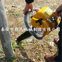 固河 手持式汽油挖树机 泰安联民手提铲式挖树移植机参数