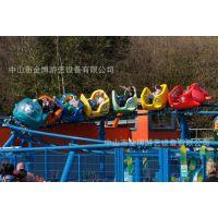 金博大型游乐场设备 过山车游乐设施厂家