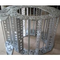 厂家直销钢制金属拖链 钢铝电缆拖链 机床不锈钢金属拖链TL80III-100