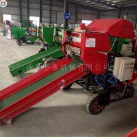厂家直销8050 牧草打捆机 秸秆打包机 苜蓿打捆机四轮拖拉机后