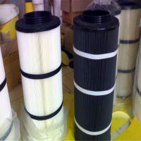 专业生产聚酯纤维无纺布覆膜阻燃式粉尘滤筒用良心做滤芯