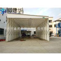 上海普陀区推拉移动棚活动篷房室外固定雨蓬折叠遮阳棚