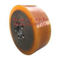 海赢得生产维修聚氨酯叉车轮,大型聚氨酯胶辊耐压耐磨