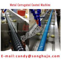 Shower PVC Coated Flexible Metal Corrugated Conduit Production Machine