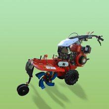大姜种植开沟机 启航大马力柴油开沟机 手扶式葱姜种植机