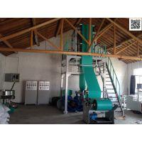 专业生产厂家生产快递袋全套设备 吹膜机 印刷机 上胶机 制袋机