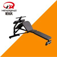 腹肌训练器健腹器运动力量器械健身房恒庆健身器材悍马系列山东德州宁津