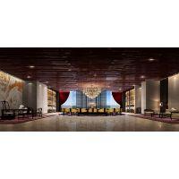 酒店设计通过分隔方法可以营造出空间层次感?