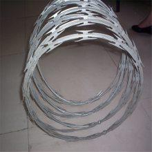 郑州刀片刺网 刀片刺网施工 铁丝刺绳价格