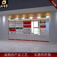 专业定制高档中纤板木质烤漆灯饰展柜 LED照明产品陈列展示柜