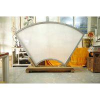 两米大尺寸宫扇空白布质扇面