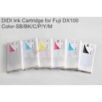 DIDI代用全新富士干式打印机DX100墨盒墨水匣六色200ML