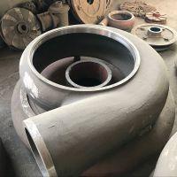 沐阳水泵生产150ZJ-65渣浆泵配件蜗壳 护套 高铬合金材质