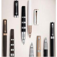 西安派克钢笔IM纯黑丽雅白夹钢笔墨水礼盒套装可练字生日商务礼品