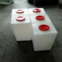300L方形加药箱圆形搅拌罐进口pe汽车房车水箱塑料桶化工容器