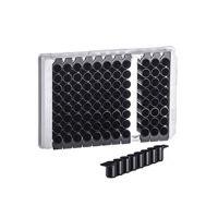 Greiner 96孔可拆酶标板(F底、黑色)货号:762076