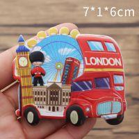 悠然见文创英伦风伦敦景点创意立体旅游纪念品可定制树脂冰箱贴