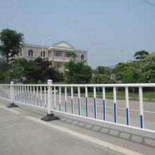 清远人行道路隔离栅定做 市政乙型护栏现货 广州机动车中心分隔栏