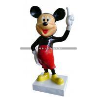 玻璃钢米老鼠,迪士尼卡通雕塑