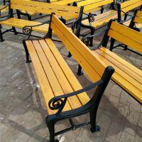 定制 公园椅 户外休闲椅 实木围树椅 靠背椅 塑木平凳 公园休闲长椅 树围椅