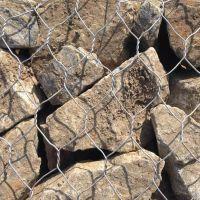 防洪讯石笼网 加筋石笼网 格宾铅丝石笼网 石笼网厂家