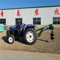 四轮拖拉机后输出小型挖坑机 起坑机 新型农业机械
